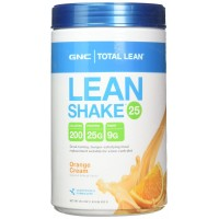 GNC Total Lean Shake - Meal Replacement, Lean Muscle Tone, Healthy Metabolism - Orange Cream, 1.83 Pound