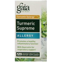 Gaia Herbs Turmeric Supreme Allergy, 60 Count