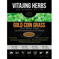Gold Coin Grass Extract Powder (4oz - 114gm) 20:1 CONCENTRATION