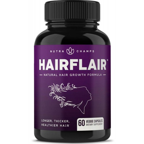 Hair Growth Vitamins >> Hairflair Hair Growth Vitamins With Biotin For Longer Stronger Faster Healthier Hair Scientifically Formulated Supplement With Keratin