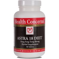 Health Concerns - Astra 18 Diet - Fang Feng Tong Sheng Herbal Supplement - 90 Tablets