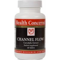 Health Concerns - Channel Flow - Corydalis Extract Herbal Supplement - Modified Huo Luo Xiao Ling Dan - 60 Tablets