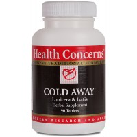 Health Concerns - Cold Away - Lonicera & Isatis Herbal Supplement - 90 Tablets