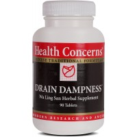 Health Concerns - Drain Dampness - Wu Ling San Herbal Supplement - 90 Tablets