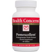 Health Concerns - Pomexcellent - Pomegranate Fruit Extract Herbal Supplement - 60 Tablets