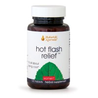 Hot Flash Relief | 120 Herbal Tablets | Natural Herbal Supplement Supporting Menopause & Managing Inner Body Heat with Shatavari, Cabbage Rose & Amla | Targets Menopausal Temperature Fluctuations