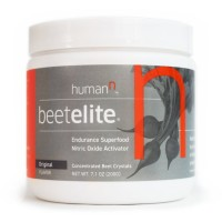 HumanN Beetelite - Beet Root Powder - Nitric Oxide Booster - Athletic Endurance Beet Supplement - Natural Original Apple Flavor (20 Servings)