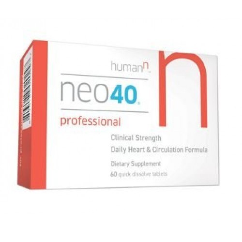 HumanN - Neo40 Professional - Nitric Oxide Booster with Methylfolate- 60  Quick Dissolve Tablets