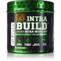 INTRABUILD Premium BCAA Intra Workout Supplement with Clinically Dosed L-Citrulline, Betaine, Beta-Alanine, & More - Boost Muscle Growth, Strength, Endurance, & Recovery - Cherry Lime