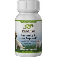 Immunity and Liver Support for Cats & Dogs (Veg Cap)