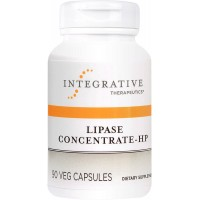 Integrative Therapeutics - Lipase Concentrate-HP - Dietary Supplement to Aid Digestion and Nutrient Absorption - 90 Capsules