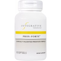 Integrative Therapeutics - Pros-Forte - Clinically Validated Prostate Formula with Saw Palmetto - 90 Softgels