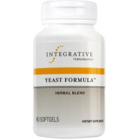 Integrative Therapeutics - Yeast Formula - Herbal Blend to Support Healthy Yeast Balance - 90 Softgels