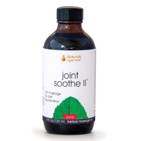 Joint Soothe II | 4 fl. oz. | Herbal Massage Oil for Joints & Bones | Helps with Circulation & Lubrication of Joints