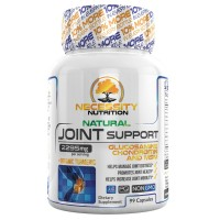 Joint Support Supplement Capsules Glucosamine Tumeric MSM Chondroitin - For Pain Relief Gluten Free Advanced Natural Health 99 Count Supports Healthy Cartilage Tissue Joints Non GMO Anti-Inflammatory