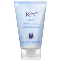 K-Y Jelly Personal Lubricant Quickly Prepares You for Intimacy, 4 oz., 3 Count
