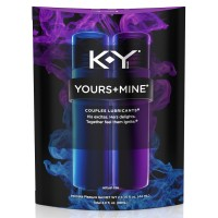 K-Y Yours & Mine Couples Lubricant, 3 oz.