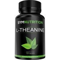 L-Theanine 200mg - 120 Count | Stress Sometimes Getting the Better of You? We've Got You Covered! | #1 Rated for Effectively Promoting Focus, Relaxation & Stress Relief | V-Capsules