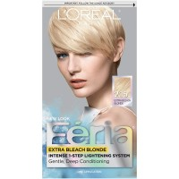 L'Oréal Paris Feria Permanent Hair Color, 205 Bleach Blonding (Extra Bleach Blonde)