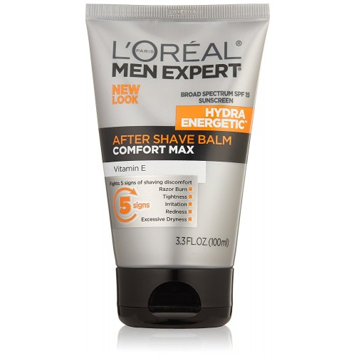 L'Oréal Paris Men Expert Hydra Energetic After Shave Balm, 3.3 fl. oz.