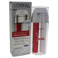 L'Oréal Paris Revitalift Bright Reveal Dual Overnight Moisturizer, 1 fl. oz.