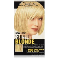 L'Oréal Paris Super Blonde Créme Lightening Kit, 205 Light Brown To Light Blonde