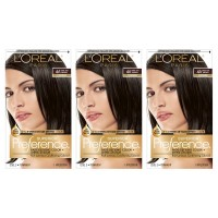 L'Oréal Paris Superior Preference Permanent Hair Color, 4A Dark Ash Brown