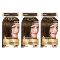 L'Oréal Paris Superior Preference Permanent Hair Color, 5G Medium Golden Brown, 3 Count