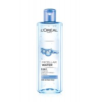 L'Oreal 3-In-1 Micellar Water Refreshing, Even for Sensitive Skin, 13.3 Ounce
