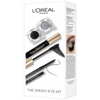 L'Oreal Paris Cosmetics Smoky Eye Makeup Kit