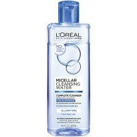 L'Oreal Paris Skin Care Micellar Cleansing Water Complete Cleanser Waterproof, 13.5 Ounce