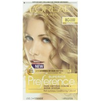 L'Oreal Preference #8G Golden Blonde, 1 ct