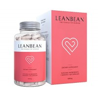 Leanbean - Skinny Body, Fast Weight Loss, Natural Diet Pills for Women, Fat Burner, Stops Cravings, Boosts Metabolism, Appetite Suppressant, Energy Booster with Garcinia Cambogia, 30 Day Supply