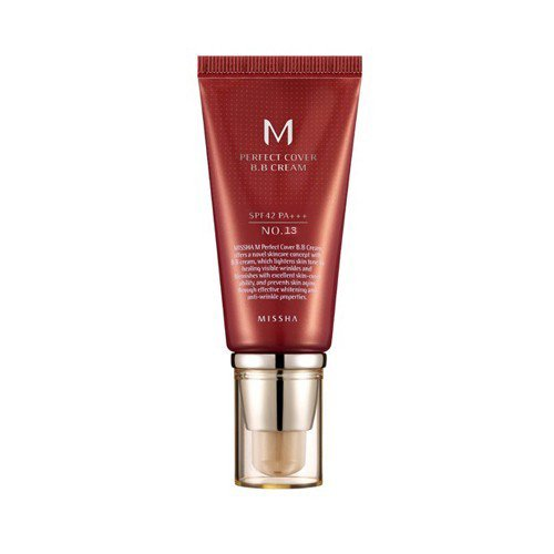 MISSHA M Perfect Cover BB Cream SPF 42 PA+++ #13 Bright Beige