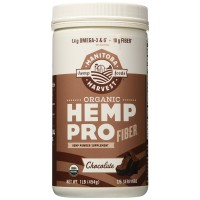 Manitoba Harvest Organic Hemp Protein Supplement, Chocolate, 16 Ounce