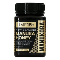 Manukora Manuka Honey (UMF 15+, 500g)