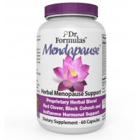 Mendapause Black Cohosh Dong Quai Red Clover Soy Isoflavones Menopause Supplement for Hot Flashes, Night Sweats, Mood Swings, Low Energy, 60 Count