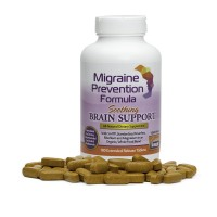 Migraine Prevention Formula - Soothing Brain Support - 180 Caplets - 3 Month Supply - Headache Treatment and Relief - Prevent Migraines While You Treat