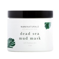 Nani Naturals Dead Sea Mud Mask, 6 Ounces, Organic, Made in USA