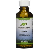 Native Remedies Rosarex To Temporarily Reduce Facial Redness And Flushing (180 Tablets)