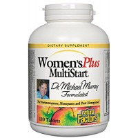 Natural Factors - Dr. Murray's Women's Plus Multistart Formula, Support for Perimenopause, Menopause & Postmenopause, 180 Tablets
