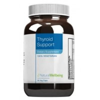 Natural Wellbeing - Thyroid Support 90 Vegetarian Capsules - provides nourishing and restorative support for healthy thyroid function