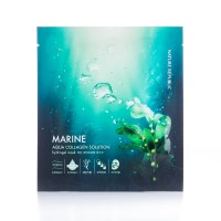 Nature Republic Aqua Collagen Solution Hydro Gel Mask, Marine, 4 Count