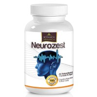 Neurozest - Premium Blend Brain Supplement and Nootropic Vitamin Formula to Support Concentration Levels, Boost Healthy Focus and Brain Function Enhancement and Alpha Cognitive Peformance Factors.