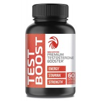 Nobi Nutrition's Testosterone Booster Pills for Men (60 Capsules) - All Natural Muscle Strength, Endurance & Stamina Support - Increase Metabolism for Healthier Weight Loss