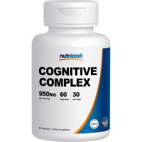 Nutricost Cognitive Complex (950mg) (60 Capsules) - Brain Function Supplement (30 Serv)