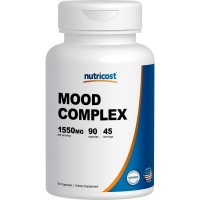 Nutricost Mood Complex 90 Capsules, With St. John's Wart