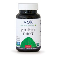 Organic Youthful Mind | 120 Herbal Tablets | Sharpen Short & Long-Term Memory | Support for Learning, Memory & Recall