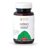 Osteo Relief | 120 Herbal Tablets | Natural Remedy for Healthy Joints & Bones | Promotes Flexibility | Source of Calcium for Bone & Cartilage Health