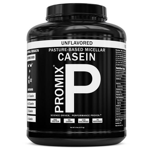 Natural casein protein powder